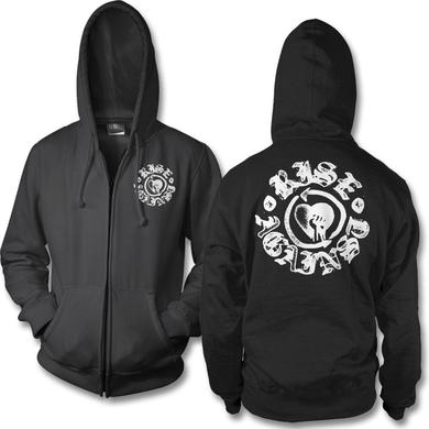 Rise Against Fist Stamp Zip Hoodie