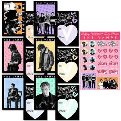 The Vamps Valentine's Day Card Set