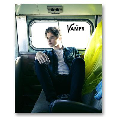 The Vamps Brad Photo Card
