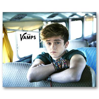 The Vamps Connor Photo Card