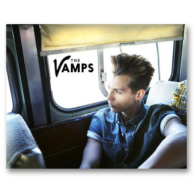 The Vamps James Photo Card