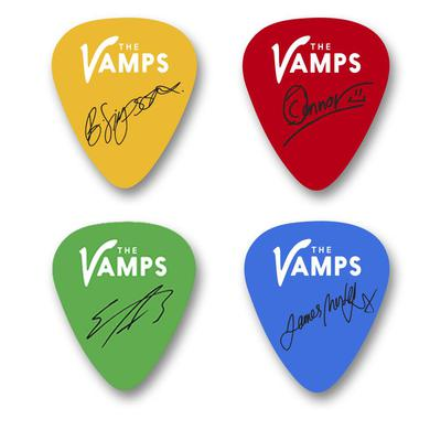 The Vamps Guitar Pick Pack
