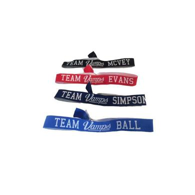 Team Vamps Poly Wristband Set