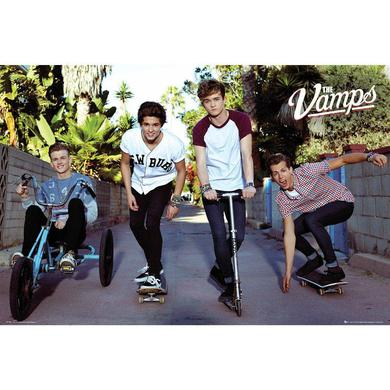 The Vamps Rolling Poster