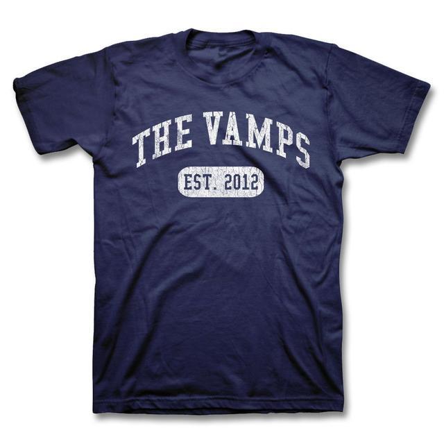 The Vamps University Logo T-shirt - Navy Blue