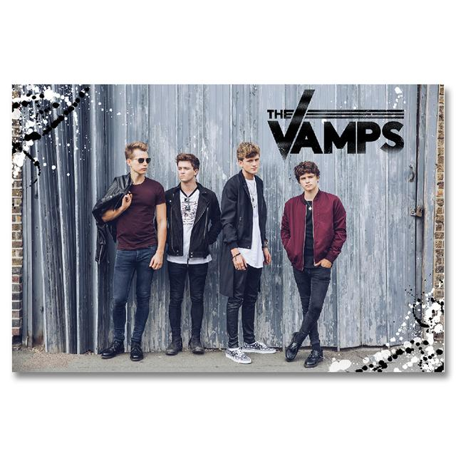 The Vamps Line Up Poster