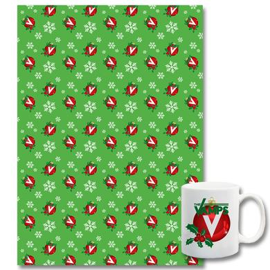 The Vamps Mug + Wrapping Paper Bundle