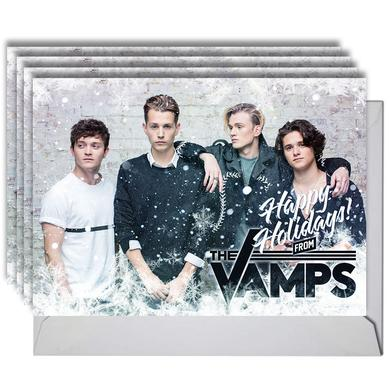 The Vamps Holiday Card Set