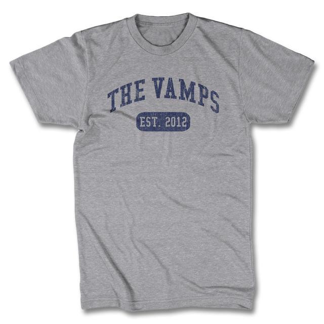 The Vamps University Logo T-shirt - Grey