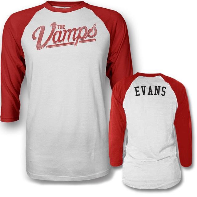 The Vamps Team Evans Raglan T-shirt