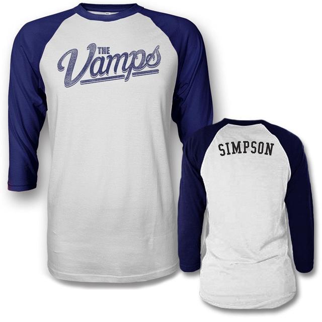 The Vamps Team Simpson Raglan T-shirt