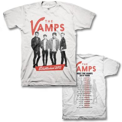 The Vamps Est 2012 Slim T-shirt -  (UK Tour exclusive)