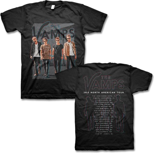The Vamps 2015 North American Tour Tee