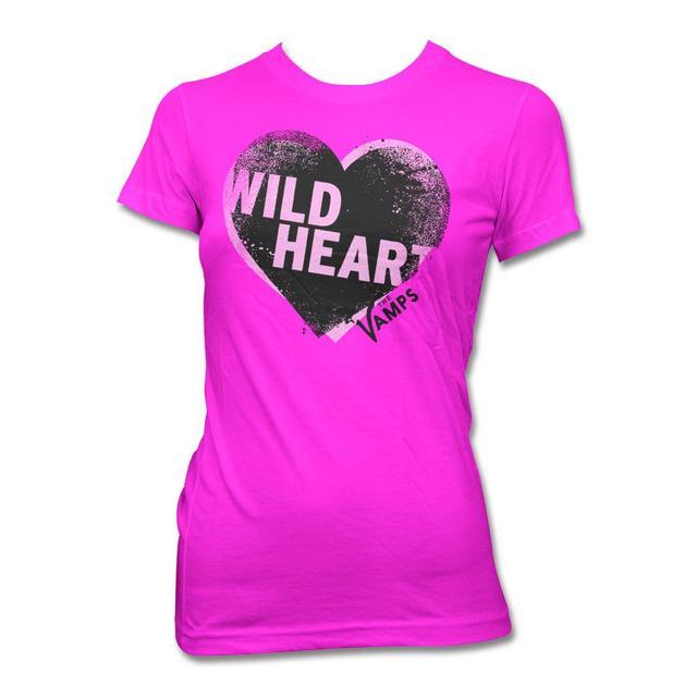 The Vamps Offset Heart T-shirt - Women's
