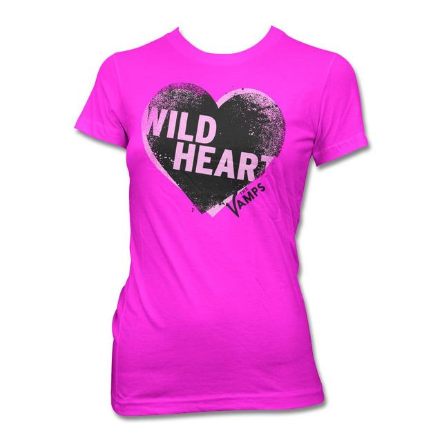 The Vamps Offset Heart T-shirt - Women's