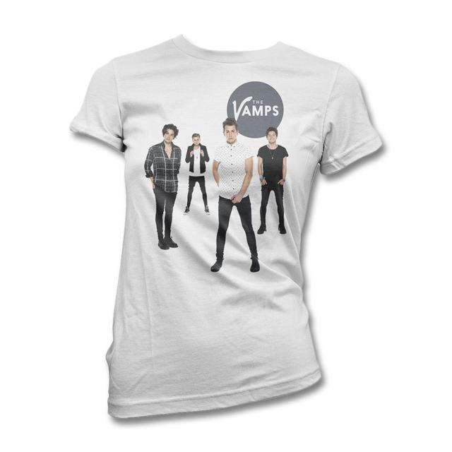 The Vamps White Room T-shirt - Women's