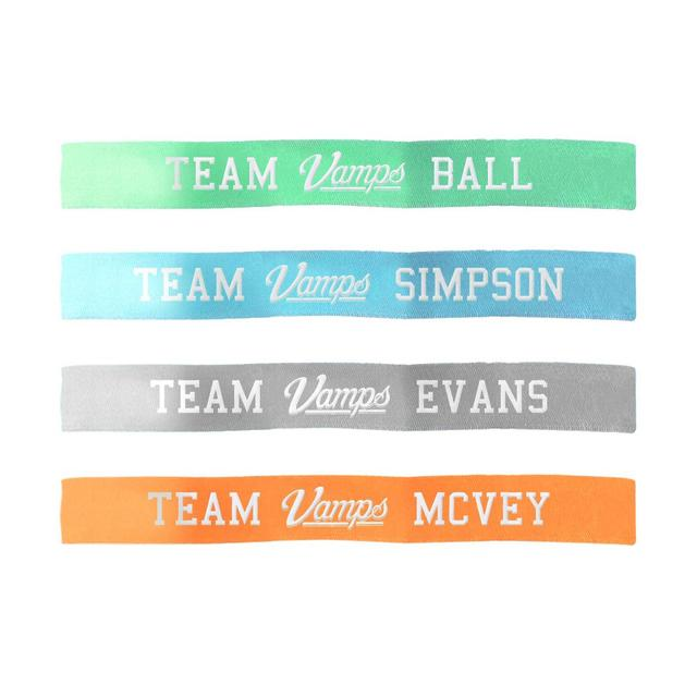 Team Vamps Cloth Wristband Set