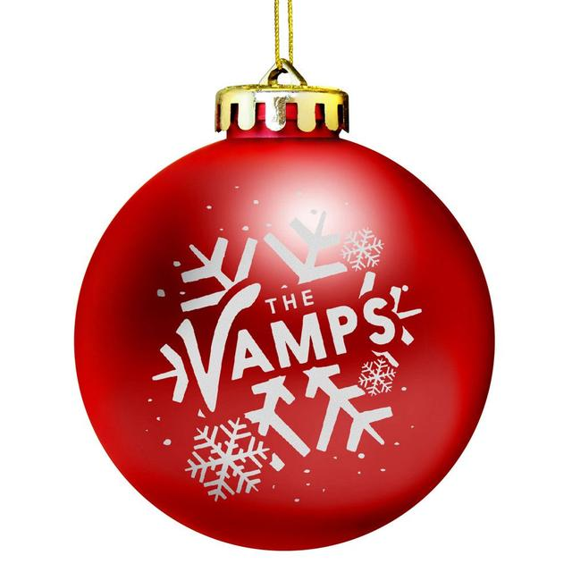 "The Vamps ""Let It Snow"" Holiday Ornament"