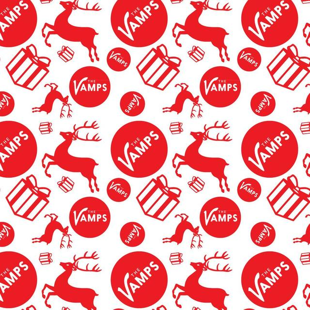 The Vamps Holiday Wrapping Paper