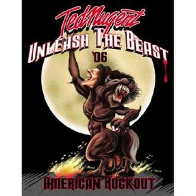Ted Nugent Unleash The Beast Sticker