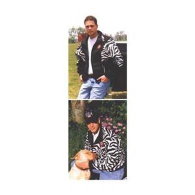 Ted Nugent Adult Jacket  Zebra