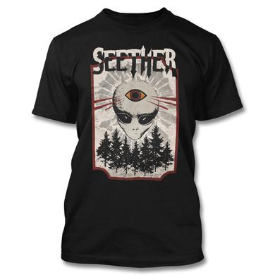 Seether Alien Third Eye T-Shirt