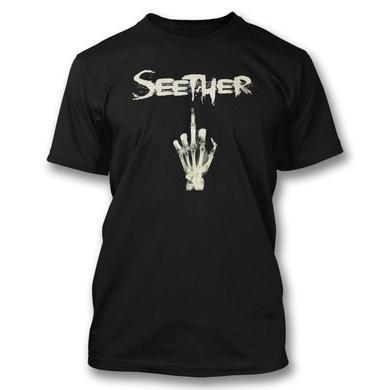 Seether Skeleton Finger T-Shirt