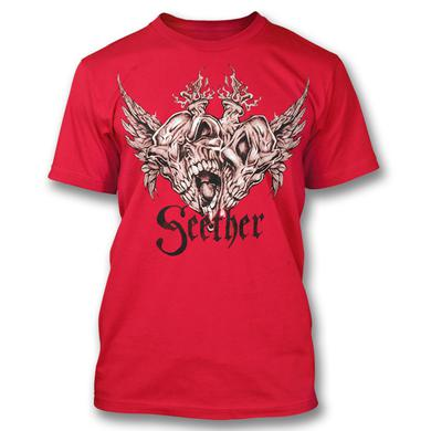 Seether Triple Skull T-Shirt