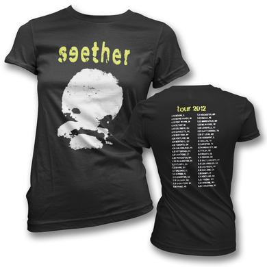 Seether Mushroom Cloud Tour T-Shirt - Women's