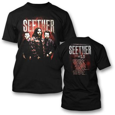 Seether Euro Tour 2013 T-Shirt