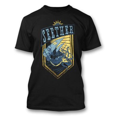 Seether Octopus Crest T-Shirt