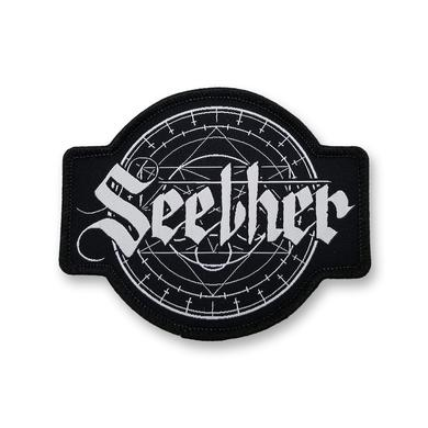 Seether Geometric Embroidered Patch