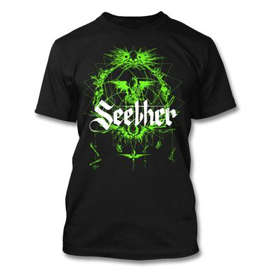 Seether Dreamcatcher T-Shirt (Green)