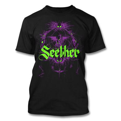 Seether Dreamcatcher T-Shirt (Purple)
