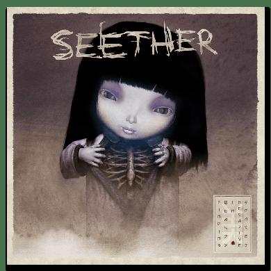 Seether Finding Beauty In Negative Spaces - CD