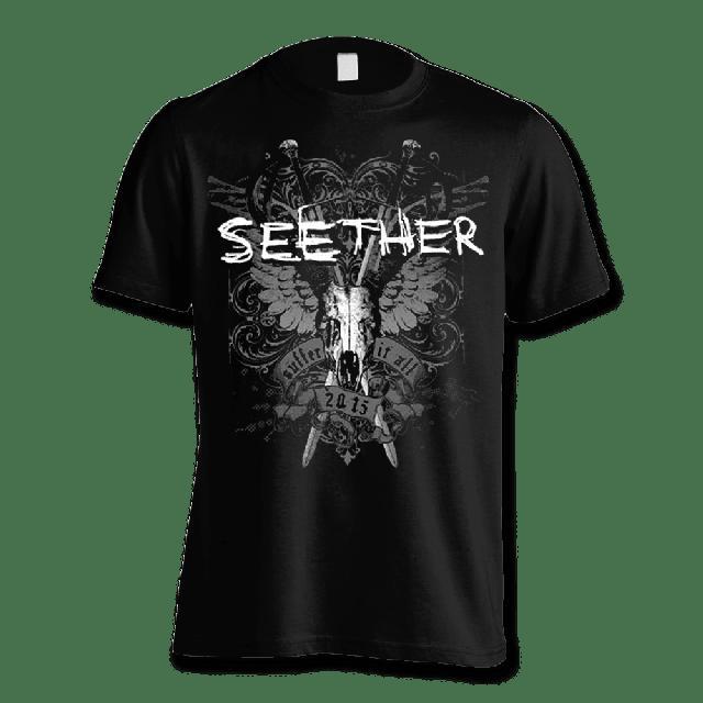 Seether Suffer T-shirt - Men's