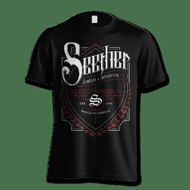 Seether Beer Label T-shirt - Men's