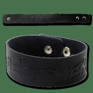 Seether Leather Wristband