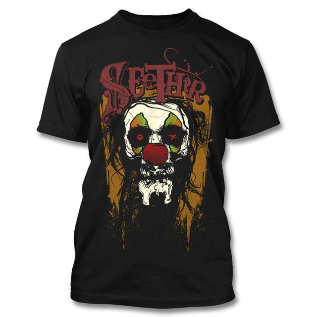 Seether Clown Face T-Shirt