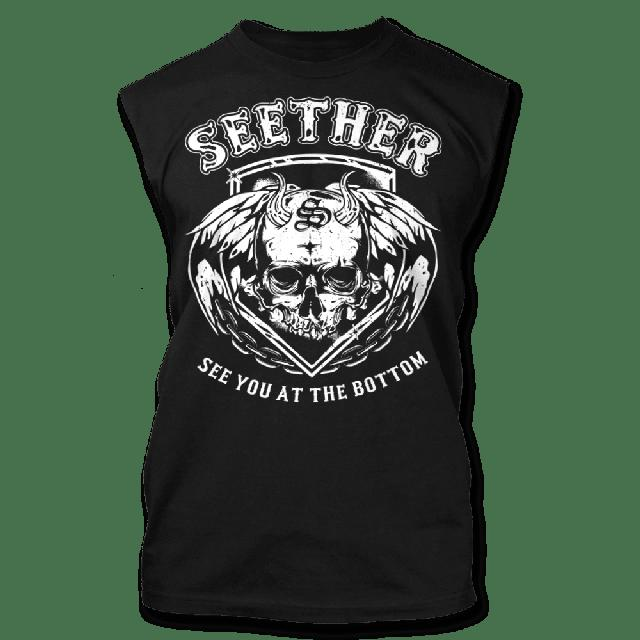 Seether See You At The Bottom Muscle Tank - Men's