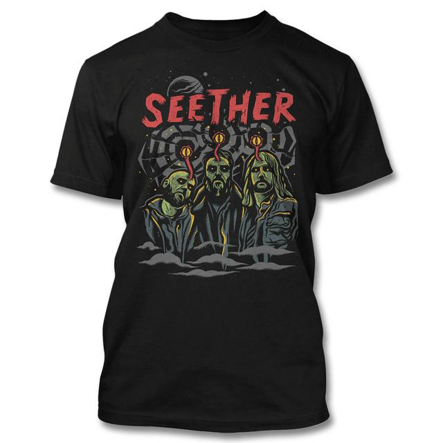 Seether Mind Control T-shirt - (Limited)
