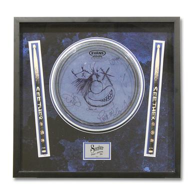 Seether One Of A Kind Signed Drum Head - Isolate and Medicate Tour