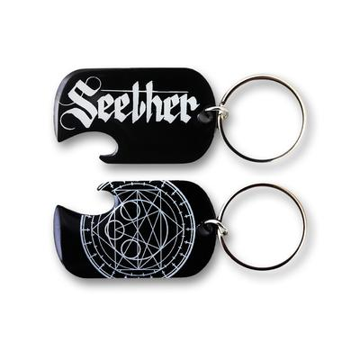 Seether Dog Tag Bottle Opener