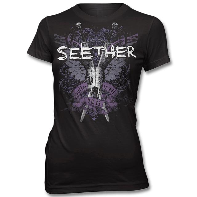 Seether Suffer T-shirt - Women's