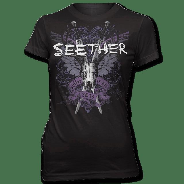 Seether Suffer T-shirt - Women's