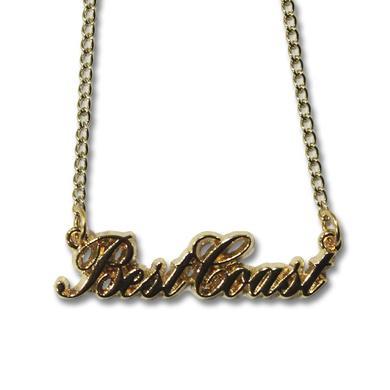 Best Coast Cursive Logo Necklace
