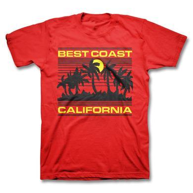 Best Coast Sunset T-shirt