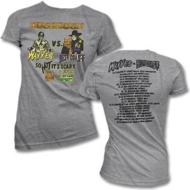 Best Coast Summer Forever Tour T-shirt - Women's (Grey)