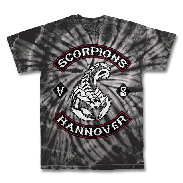 Scorpions Hannover Tie Dye T-shirt