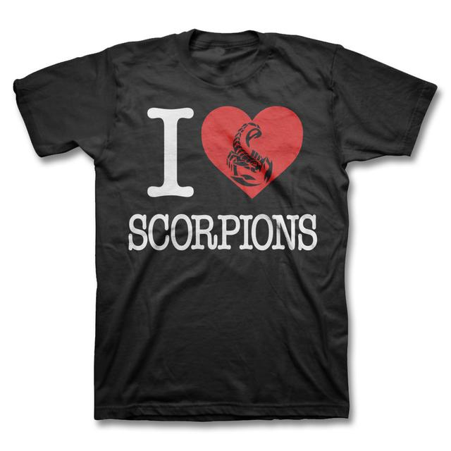 EXCLUSIVE I Heart Scorpions T-shirt